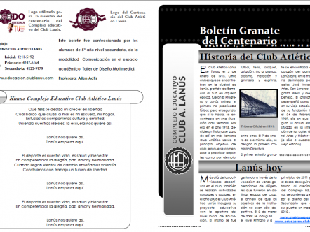 Boletín Granate del Centenario
