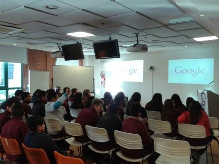 Visita a Google Argentina