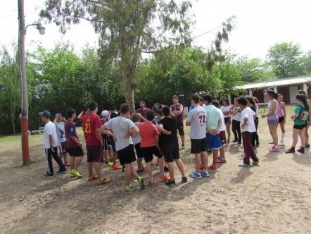 Campamento en Chascomús