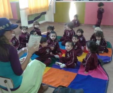 "Tercer Grupo Maternal ""B"" Sala Sol"