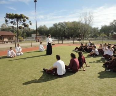 Clases especiales de Aikido en el Polideportivo