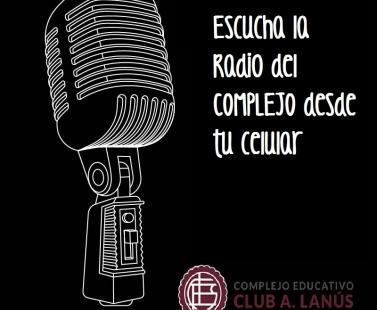 Escucha la Radio del COMPLEJO desde tu celular