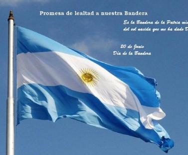 Promesa de lealtad a nuestra Bandera