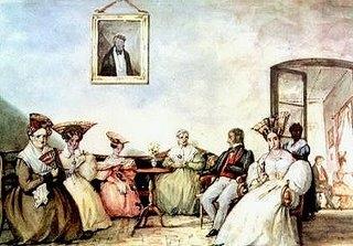 Tertulias en 1810