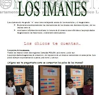 Los Imanes - 4to.A