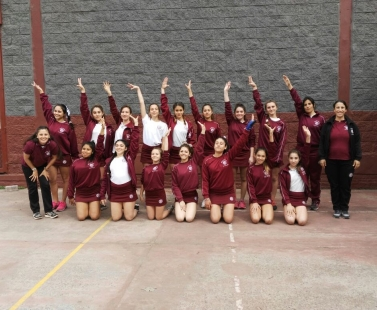"Torneo Interescolar de Gimnasia Artística Femenina ""Copa Granate"""