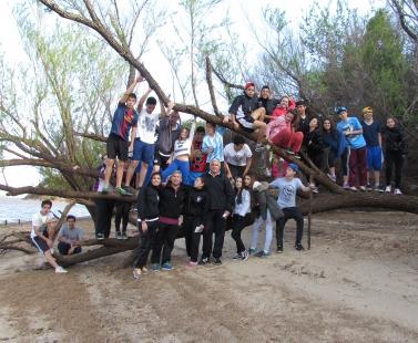 Campamento de 3° año del Nivel Secundario