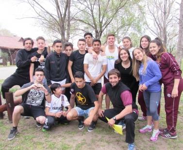 Campamento de 4° año del Nivel Secundario