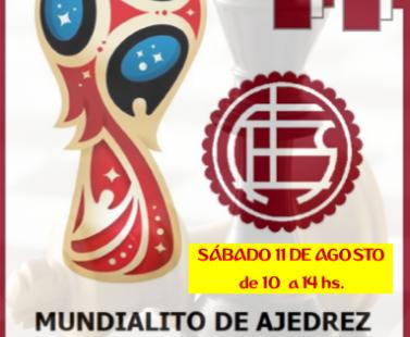 MUNDIALITO DE AJEDREZ ICAL 2018