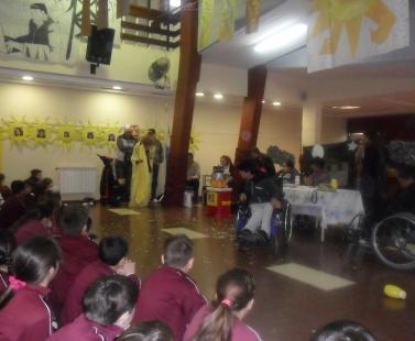 Visita de la Escuela N° 508
