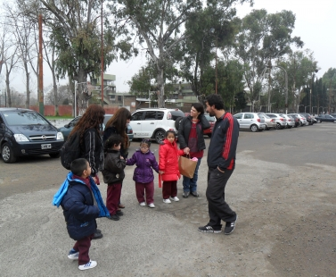 Visita de la Escuela San Francisco