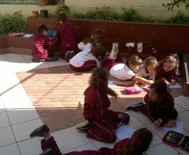 1º C aprende disfrutando distintos momentos didácticos...